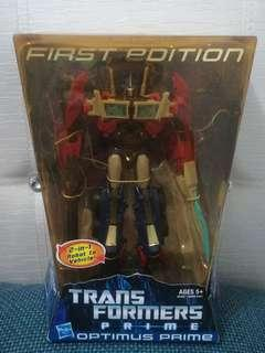Transformers Prime Optimus Prime First Edition