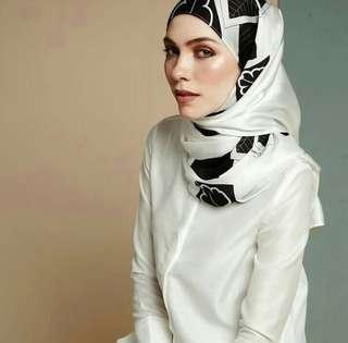Mimpi kita satin silk shawl
