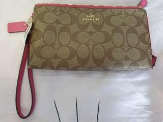 Brand New with Tag Authentic Coach Wristlet
