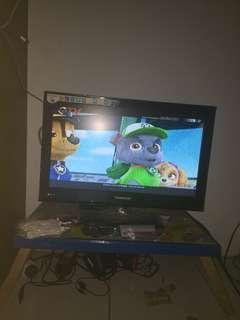 Tv changhong gratis antene dan besi yg untuk di pasang di tembok