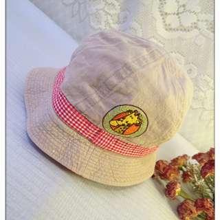 UENO ZOO 日本製 女孩 女童 男童 小孩 兒童 遮陽帽 休閒帽 登山帽 帽子