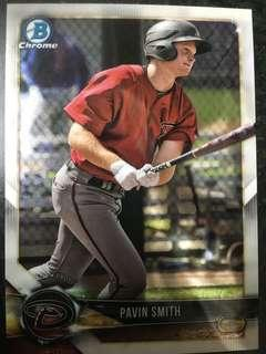 2018 Bowman Chrome Pavin Smith