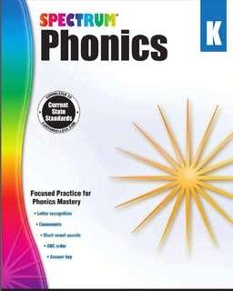 US Spectrum Phonics WorkSheets
