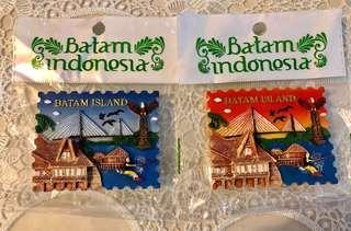 FRIDGE MAGNET PULAU BATAM, INDONESIA