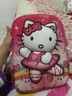 Tas Anak 3D Hello Kitty preloved
