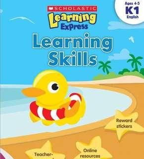 US Scholastic Learning Express Worksheets