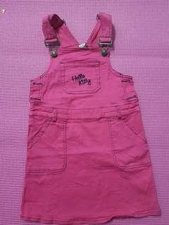 Hello Kitty Overall Dress