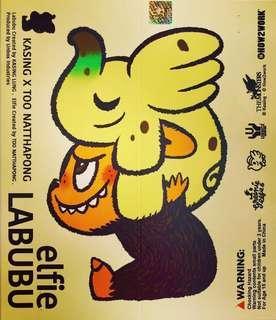 labubu elife  香蕉 小象 kasing leong 龍家升 unbox
