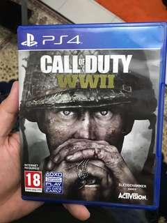PS4 : Call of Duty WW2