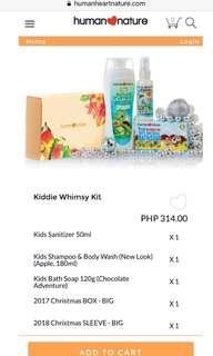 Kiddie Whimsy Christmas Kit