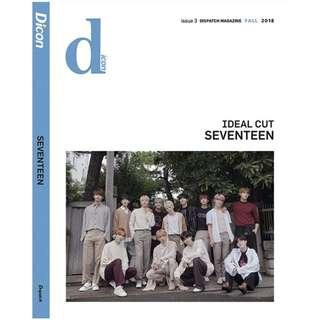 [SHARING] SEVENTEEN IDEAL CUT 'Think About CARAT' DICON MAGAZINE