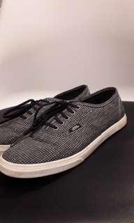 Vans grey plaid