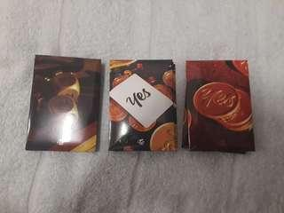 Yes or Yes Preorder Photocards
