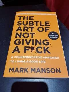 Book by Mark Manson
