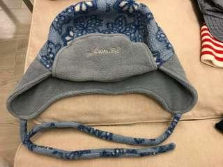 camfis 藍色bb冷帽 超保暖 小童冷帽