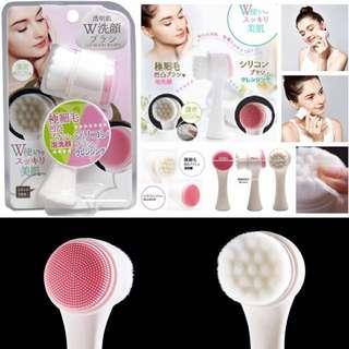 日本 COGIT 透明肌兩用洗臉刷
