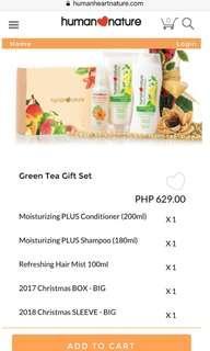 Green Tea Christmas Gift Set