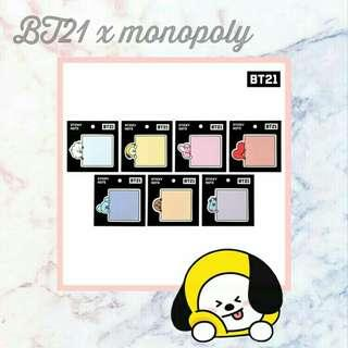 BT21 x monopoly group order