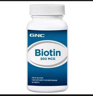 GNC BIOTIN 300-100 TABLET