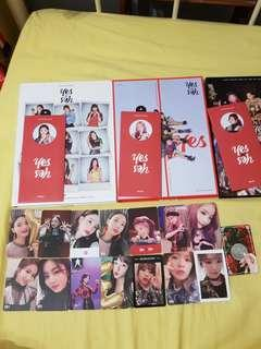 WTS Twice YOY yes or yes photocards bookmark