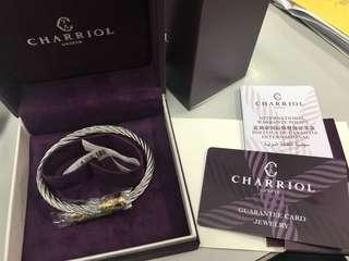 Authentic brand new CHARRIOL bangles