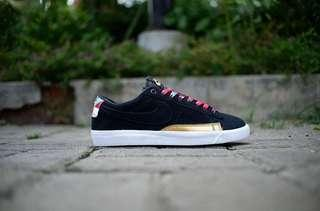 NIKE BLAZER LOW BLACK