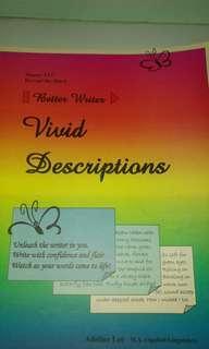Better writer - Vivid Descriptions