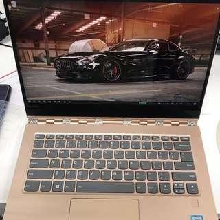 HIGH SPECS Lenovo Yoga 920 8th Gen i7 Copper UHD 4k Display 2 in 1 with Active Pen 16GB Ram 512GB m2 SSD, more powerful than a MacBook Pro Retina or Surface Pro