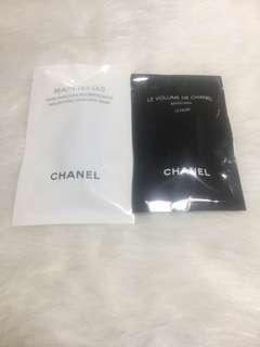 Chanel mascara and mascara base
