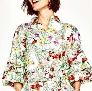 Zara Classy Floral Top