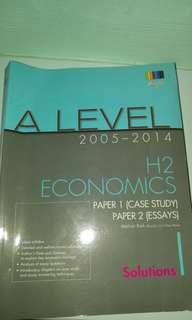 A level 2005-2014 H2 Econs papers