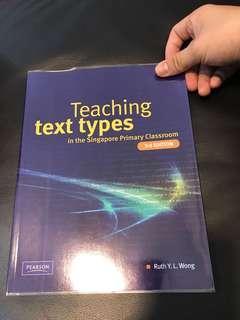 Teaching text types in the Singapore Pri classroom