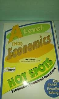 A level H2 Economics Hot Spots Frequently Examined Questions