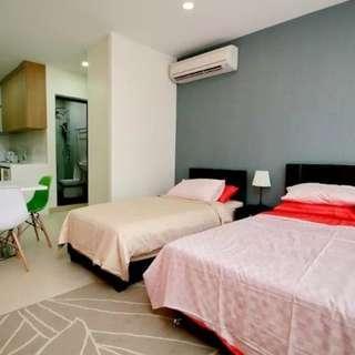 6 Studio Apartments for Rent @ Bugis Jalan Besar MRT 100m Washing Machine Cooker Toilet Fully Furnished
