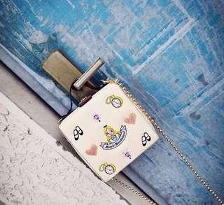 Alice in the wonderland sling bag
