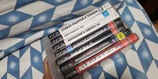 PS3 discs all original