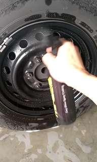 Hiace Rim Protection + Easy maintenance