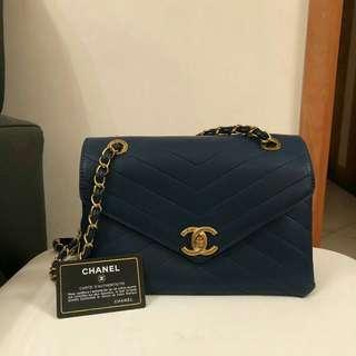 Navy Chanel Handbag