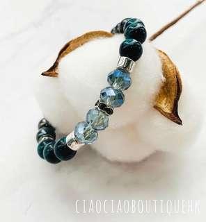 湖水綠手鏈 Turquoise Bracelet
