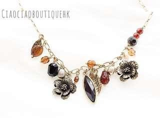 民族風頸鍊 Folk-Style Necklace