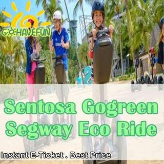 🚚 Gogreen Eco-segway Fun/Adventure Ride @ Sentosa - Instant E Ticket
