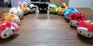 Animal Carnival plush toys (7-11 Collectible by SANRIO)