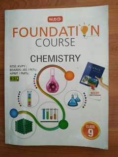 Foundation course: chemistry(CBSE)