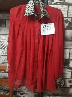 Longsleves blouses Medium to Large  P80