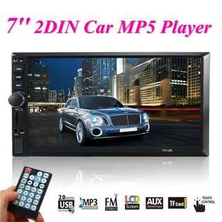 "100% New 7012B MP5 Player 7"" 720P Touchscreen Bluetooth FM USB Car Radio"
