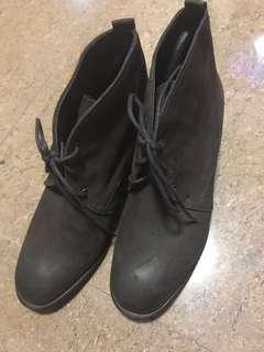 Barney's New York Leather Boots