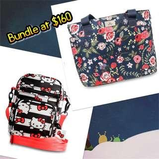 Midnight Posy & Hello Kitty Dots & Stripe Bundle