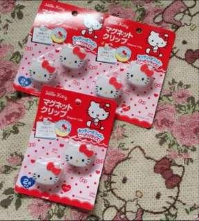 Hello kitty Clip magnet