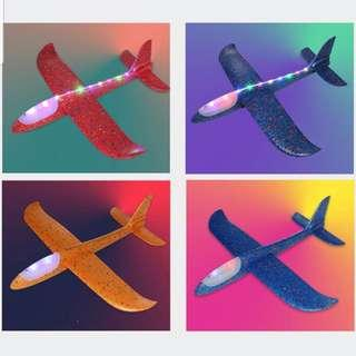 🚚 Flying Airplane Toy for Kids with Led Lights on Head