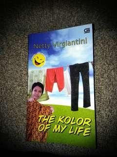 "Novel ""The Kolor Of My Life by Netty Virgiantini"